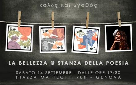 LA BELLEZZA @ STANZA DELLA POESIA