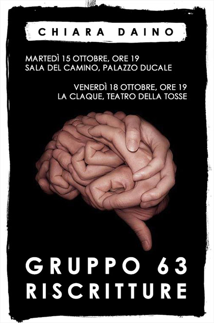 GRUPPO 63 RISCRITTURE